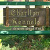 Charlton Kennels sign